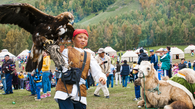 The boy with the golden eagle Word nomad Games xith Baibol travel